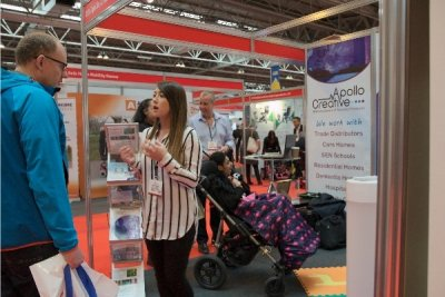 Emego at care and disabilty show 2017