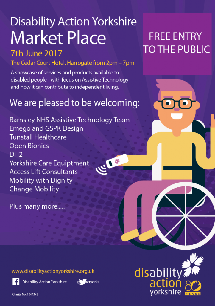 Disability Action Yorkshire Event