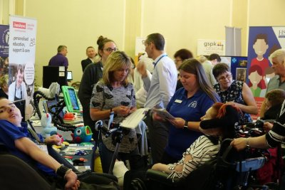 Emego at the assistive technology event in Harrogate