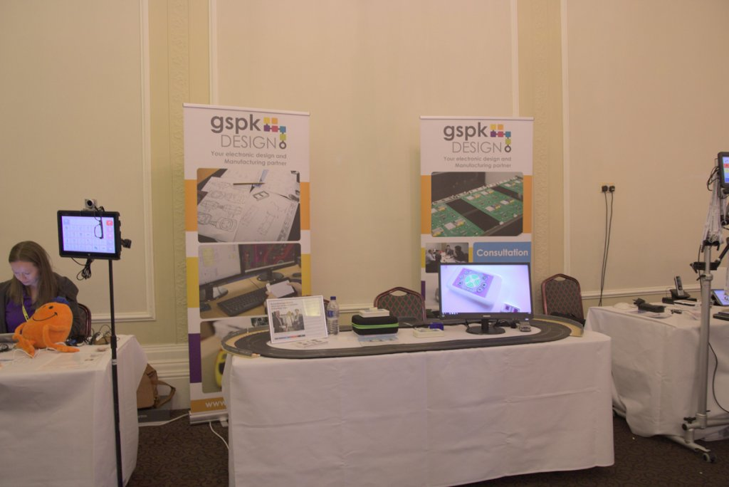 Emego demonstrated at the Harrogate Assistive Technology Show
