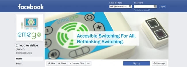 Emego Switch on Facebook