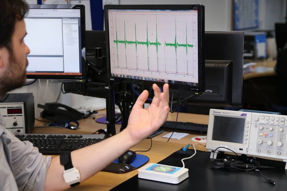 Electronic Engineer using Emego Assistive Switch