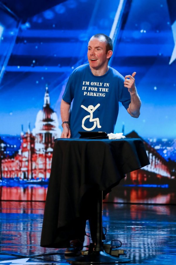 Lee Ridley AKA The Lost Voice Guy
