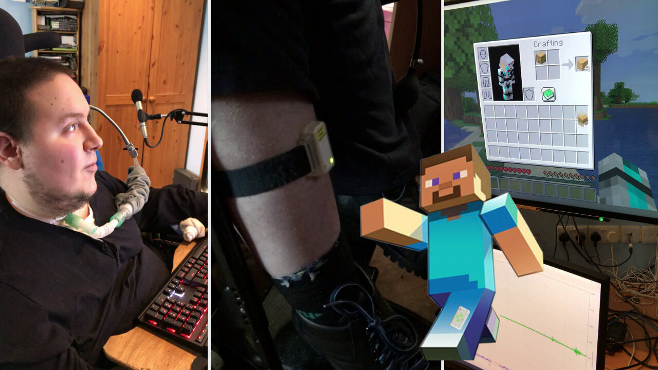 Using the Emego Assistive Switch with Minecraft